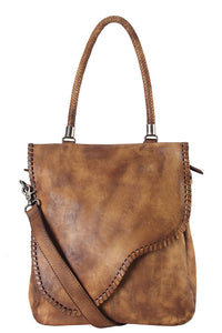140157 Designer Genuine  Leather  Tote  Bag
