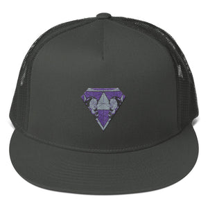 Diamond Mesh Back Snapback