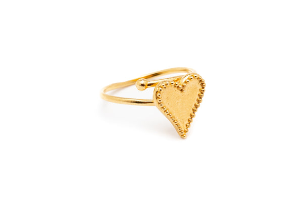 ANILLO HEART OF GOLD