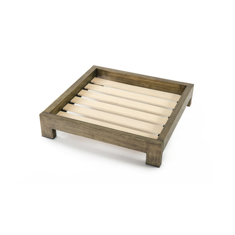 Gold Brushed Pet Bed Frame | toby&molly