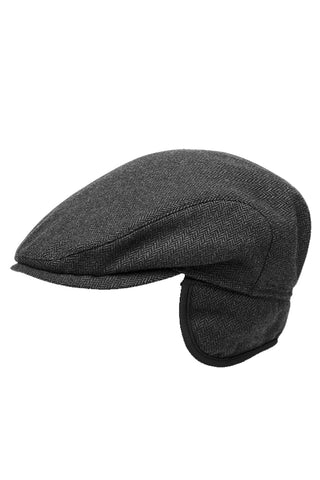 Wool Driver Hat with Ear Flaps