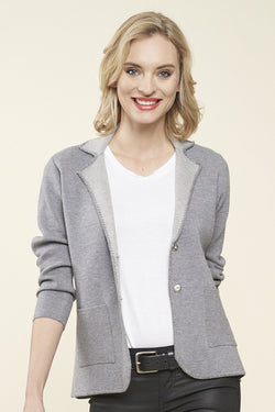 Emery Knit Blazer