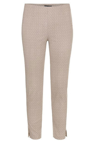 Pull on Print Ankle Pant
