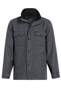 Bonded Wool City Jacket