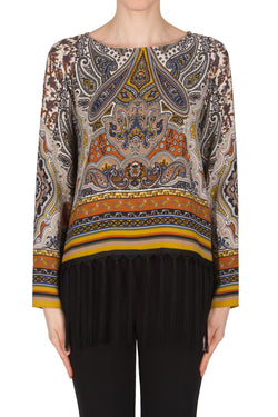 Paisley Top with Fringe