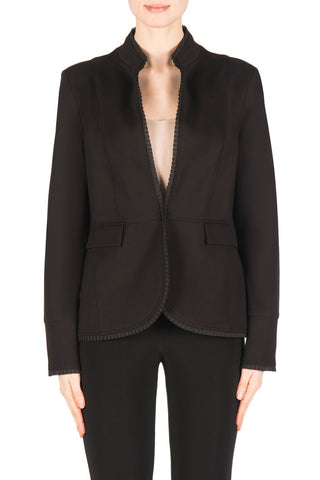 Pleated Trim Blazer