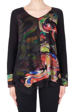 Peacock Printed Tunic