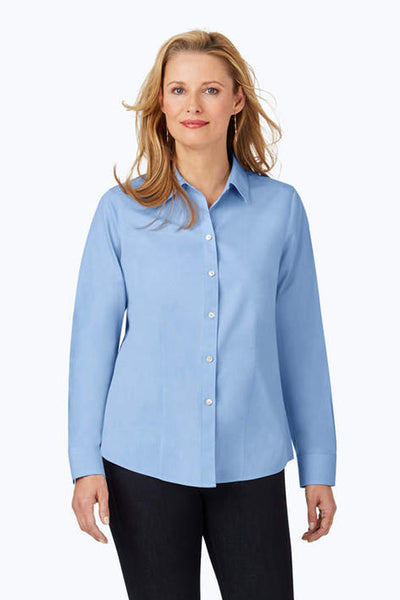 Dianna PinPoint Solid Shirt