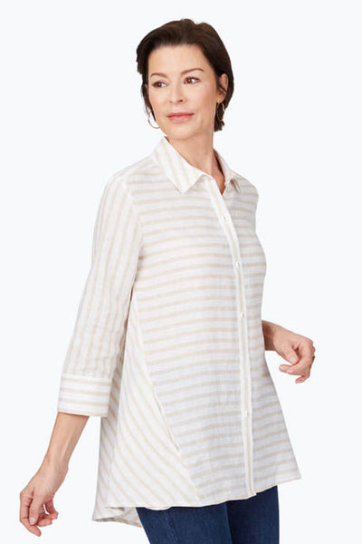 Carlene Striped Tunic