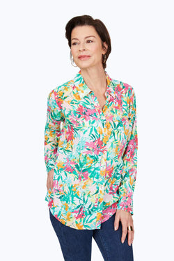 Rhea Tropical Shirt