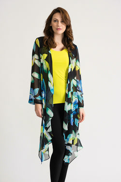 Chiffon Floral Duster