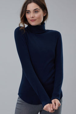 Clarissa Ribbed Turtleneck