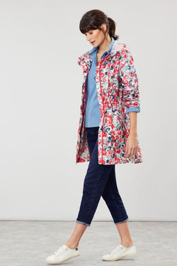 Go Lightly Floral Raincoat in 2 Prints