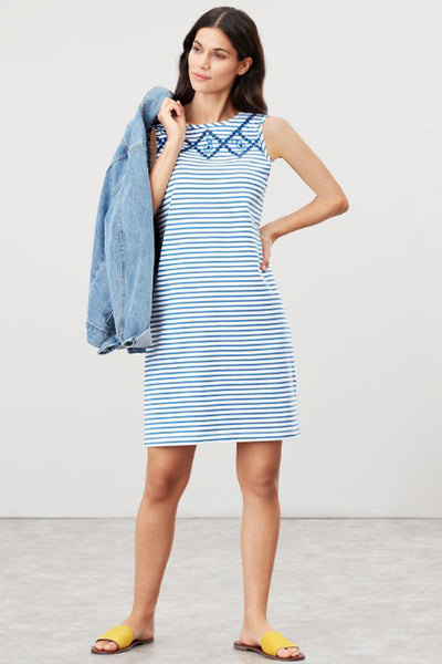 Riva Sleeveless Stripe Dress