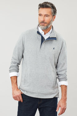 Deckside Zip Neck Sweater