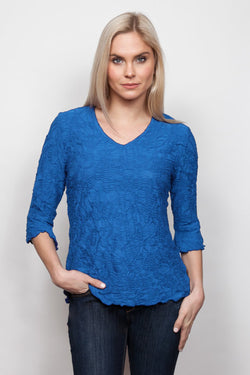 Crinkle Flutter Sleeve Top in 5 Colors