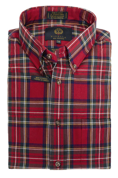Royal Stewart Plaid Shirt