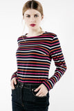 La Flotte Multi Striped Shirt