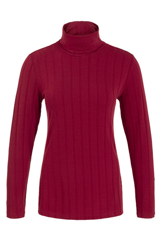 Wide Ribbed Turtleneck