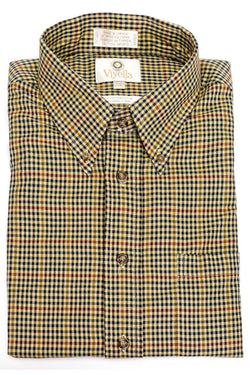 Small Check Button Down Shirt