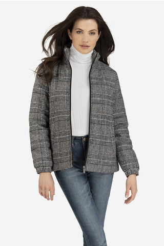 Glenn Plaid Insulated Jacket