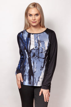 Printed Tee Shirt in 4 Prints