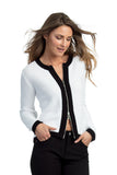 Long Sleeve Zip Cardigan