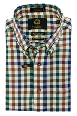 Large Check Button Down Shirt