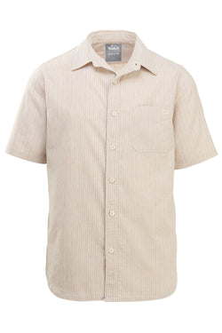 Short Sleeve Hemp II Mini Stripe Shirt