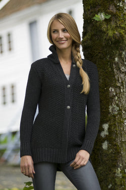 Gudrun Textured Cardigan in 2 Colors