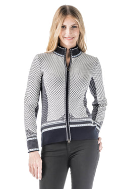 Viktoria Zip Cardigan in 4 Colors