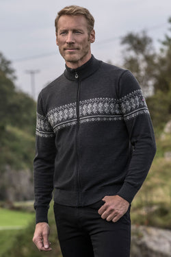 Hovden Men's Zip Cardigan in 2 Colors