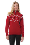 Seefeld Feminine Zip Neck Sweater