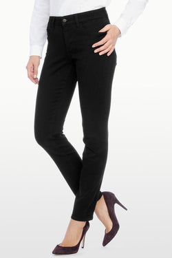 Alina Black Denim Legging