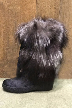 Gigi Fox Fur Boot in 2 furs