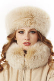 Assorted Fox Fur Headbands in 3 Colors