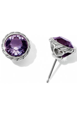 Iris Stud Earring in 2 Colors