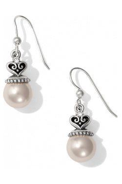 Alcazar Pearl French Wire Earring