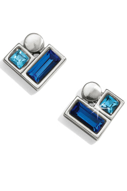 Blue Showers Stud Earrings
