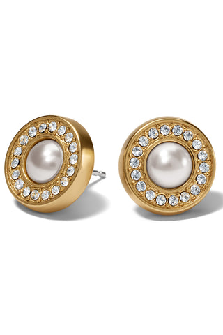 Pearl Meridian Post Earrings