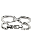 Meridian Swing Duet Hinged Bangle