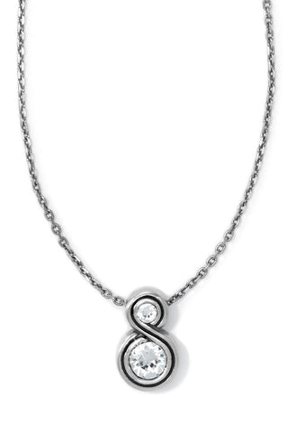 Infinity Sparkle Petite Necklace