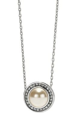 Pearl Chara Ellipse Short Necklace