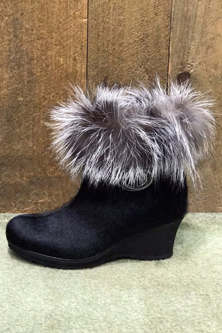 Katy Short Fur Boot