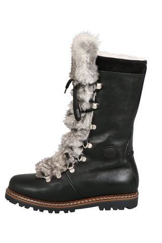 Malix Fur Trimmed Boot in 2 Colors