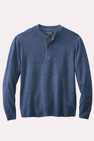 Henley Merino Sweater