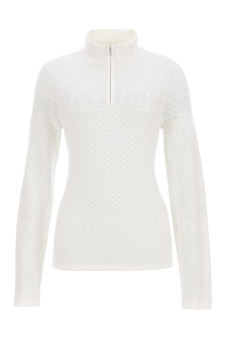 Fiona Nordic Zip Neck Sweater