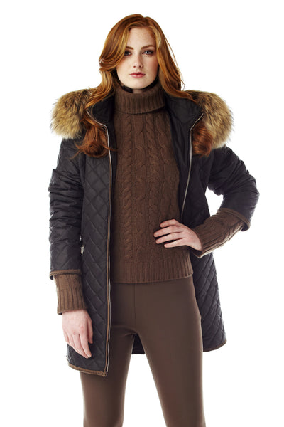 Strella Quilted Coat