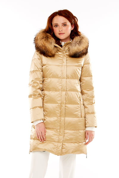 Hanah Quilted Down Coat in 3 Colors