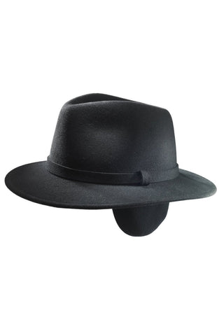 Slope Fedora with Ear Flaps